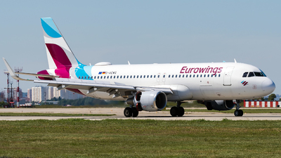 A picture of DAEWG - Airbus A320214 - Eurowings - © Alexander Lebedev