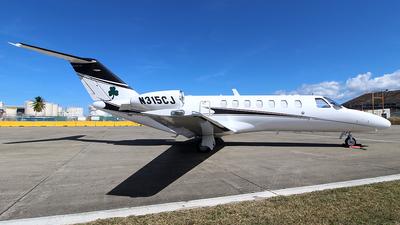 A picture of N315CJ - Cessna 525B CitationJet CJ3 - [525B0315] - © Raul Sepulveda Merced