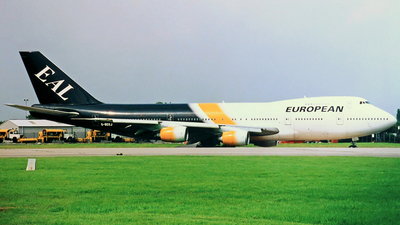 G-BDXJ - Boeing 747-236B - European Aviation (EAL)