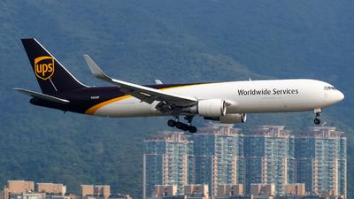 N352UP - Boeing 767-34AF(ER) - United Parcel Service (UPS)
