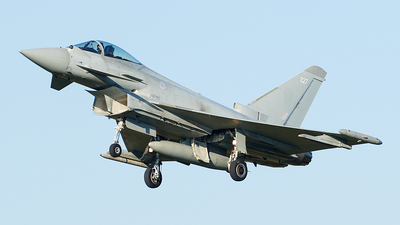 ZK327 - Eurofighter Typhoon FGR.4 - United Kingdom - Royal Air Force (RAF)