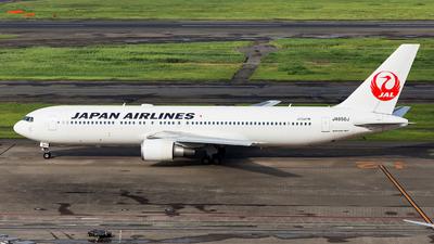 JA656J - Boeing 767-346(ER) - Japan Airlines (JAL)