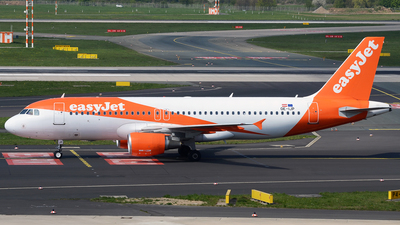 OE-IJP - Airbus A320-214 - easyJet Europe