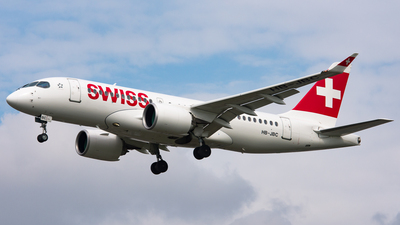 HB-JBC - Bombardier BD-500-1A10 CSeries CS100  - Swiss
