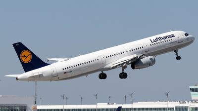 D-AIDX - Airbus A321-231 - Lufthansa
