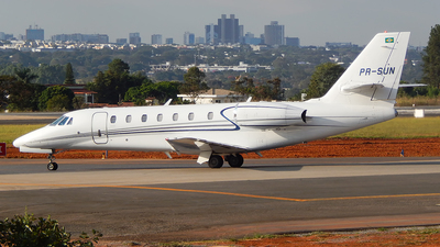 PR-SUN - Cessna 680 Citation Sovereign - Private