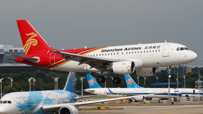 A picture of B6153 - Airbus A319115 - Shenzhen Airlines - © Eason Chen