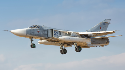 RF-95114 - Sukhoi Su-24M Fencer D - Russia - Air Force