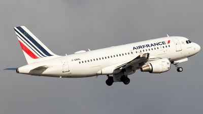 A picture of FGRHL - Airbus A319111 - Air France - © Rui Sequeira