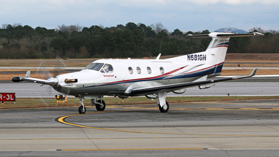 A picture of N681GH - Pilatus PC12/45 - [681] - © Brian T Richards