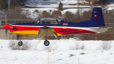 A picture of HBHTC - Pilatus PC7 - [520] - © Alex