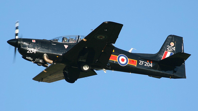 ZF204 - Short Tucano T.1 - United Kingdom - Royal Air Force (RAF)