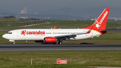 A picture of TCTJV - Boeing 73786J - Corendon Airlines - © Felix Sourek