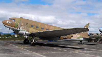 540 - Douglas C-47A Skytrain - Guatemala - Air Force