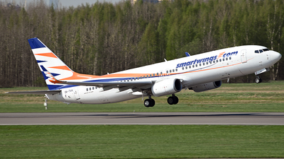 A picture of OKTVH - Boeing 7378Q8 - Smartwings - © Luba Ostrovskaya