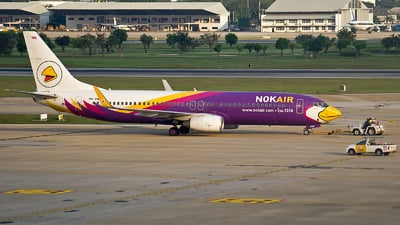 HS-DBB - Boeing 737-8AS - Nok Air