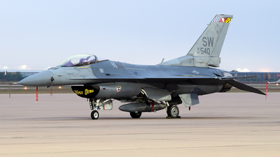 93-0540 - Lockheed Martin F-16CM Fighting Falcon - United States - US Air Force (USAF)