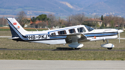 HB-PKJ - Piper PA-32-301T Turbo Saratoga - Aerospeed Flight School
