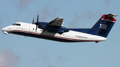 N437YV - Bombardier Dash 8-Q202 - US Airways Express (Mesa Airlines)