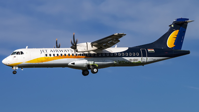 EI-GIV - ATR 72-212A(600) - Jet Airways