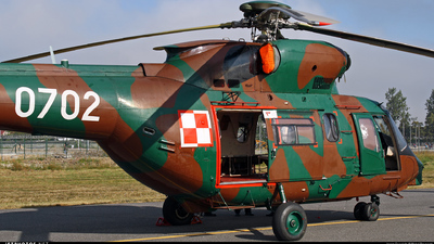 0702 - PZL-Swidnik W3WA Sokol - Poland - Air Force