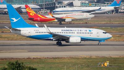 A picture of B5279 - Boeing 73775C - Xiamen Air - © XueQing