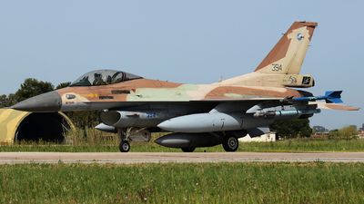 394 - General Dynamics F-16C Barak   - Israel - Air Force