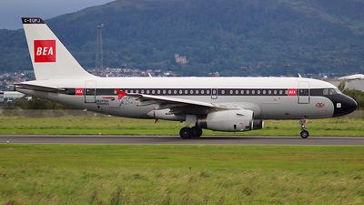 A picture of GEUPJ - Airbus A319131 - British Airways - © Nicky Scott