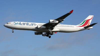 4R-ADF - Airbus A340-313X - SriLankan Airlines