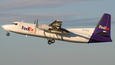 N715FE - Fokker F27-500F Friendship - FedEx Feeder (Mountain Air Cargo)