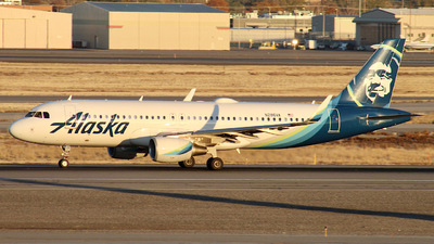N286VA - Airbus A320-214 - Alaska Airlines
