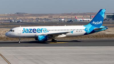 9K-CAI - Airbus A320-214 - Jazeera Airways