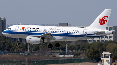 A picture of B2404 - Airbus A319131 - Air China - © XPHNGB