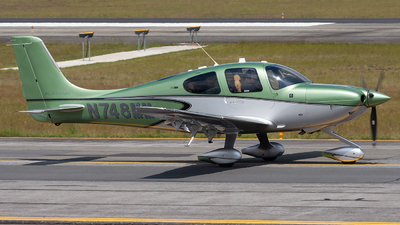 N748MM - Cirrus SR22T-GTS Platinum - Cirrus Design Corporation