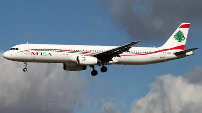 F-ORME - Airbus A321-231 - Middle East Airlines (MEA)