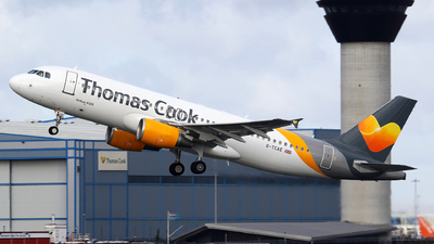 G-TCAE - Airbus A320-214 - Thomas Cook Airlines