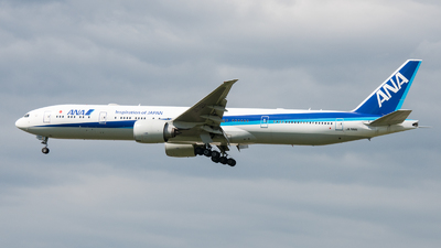 A picture of JA788A - Boeing 777381(ER) - All Nippon Airways - © David W. Wilson