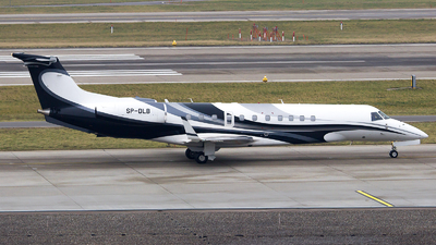 SP-DLB - Embraer ERJ-135BJ Legacy 600 - Blue Jet