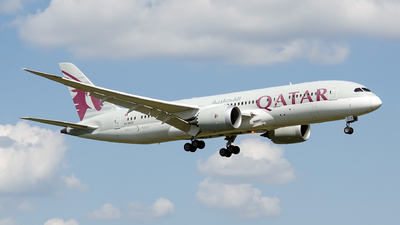 A7-BCS - Boeing 787-8 Dreamliner - Qatar Airways