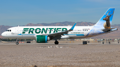 A picture of N370FR - Airbus A320251N - Frontier Airlines - © Lars Rohde