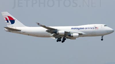 9M-MPS - Boeing 747-4H6F(SCD) - MASkargo