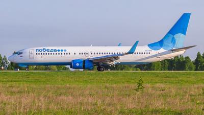 A picture of VQBTC - Boeing 7378MA - Pobeda - © Mikhail Leukhov
