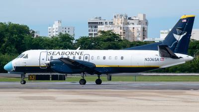 A picture of N336SA - Saab 340B - Seaborne - © Carlos Nieves