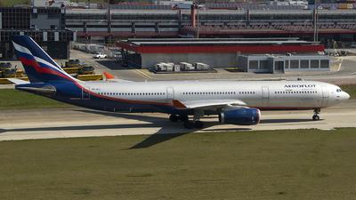 A picture of VQBPJ - Airbus A330343 - Aeroflot - © Stéphane Mutzenberg