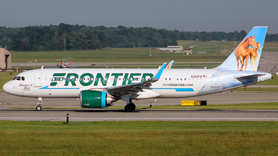 A picture of N343FR - Airbus A320251N - Frontier Airlines - © Chrisjake