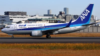 A picture of JA03AN - Boeing 737781 - All Nippon Airways - © Tokubee