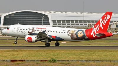 PK-AZA - Airbus A320-214 - Indonesia AirAsia