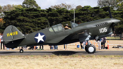 VH-HWK - Curtiss P-40F Warhawk - Private