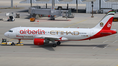 D-ABDU - Airbus A320-214 - Air Berlin