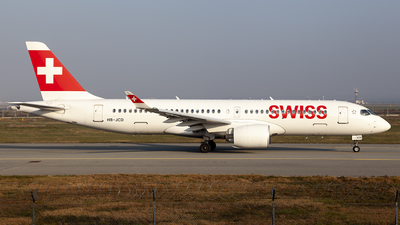 HB-JCD - Bombardier CSeries CS300 - Swiss